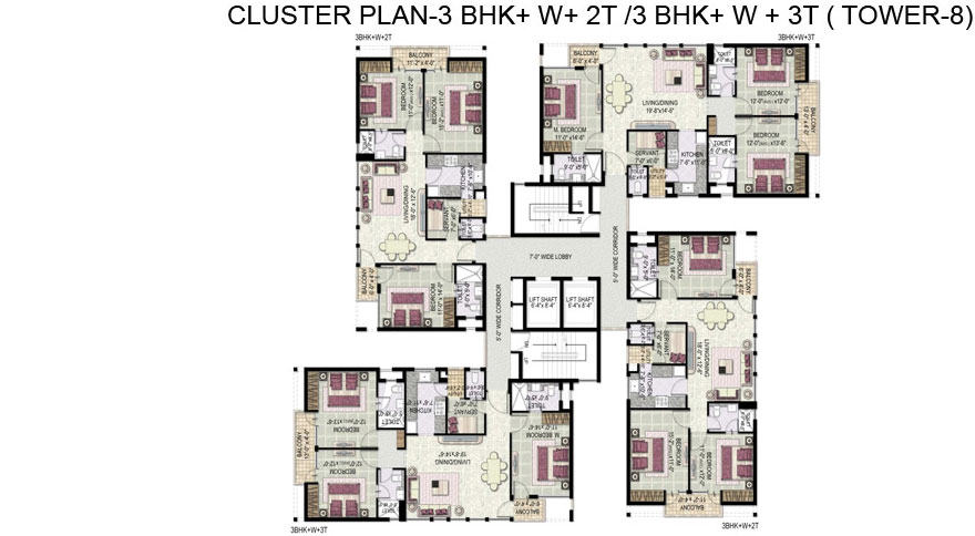 Kensington Palace 1a Floor Plan Welcome To Umang Estates